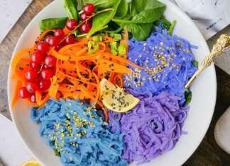 színes ételek