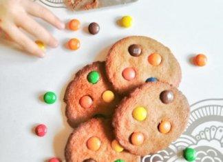Isteni M&m's keksz recept