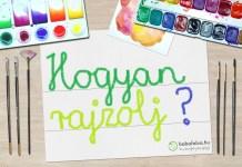Kreatív rajzóra esős napokra, online, gyerekeknek