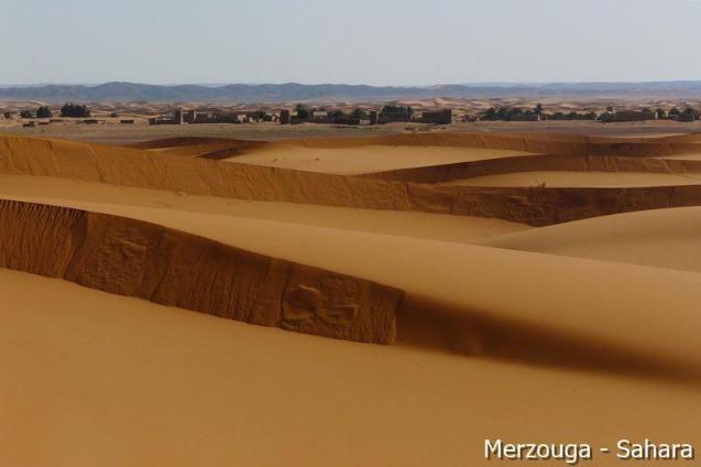 Wydmy Erg Chebbi, Sahara, Merzouga