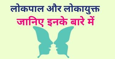 Functions of Lokpal and Lokayukta in Hindi