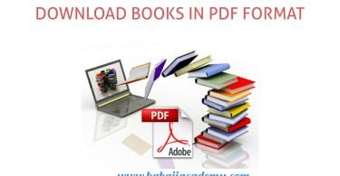 books in PDF Format