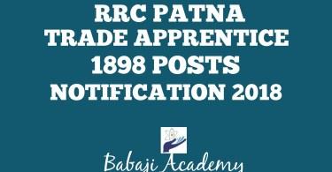 Railway Patna Bharti 2018