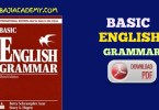 Basic of English grammar Pdf: Learn Basic English 2019
