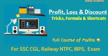 Profit and Loss Formulas and Tricks in English