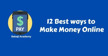 How to Earn Money online from Home: Best Ways to Make Money Online