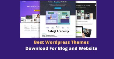 Best Free Wordpress Themes Download for blog and website