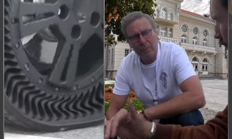 Мишелин тестираше гуми без воздух за патнички автомобили во Битола