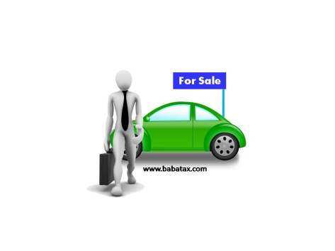 sale of old used car