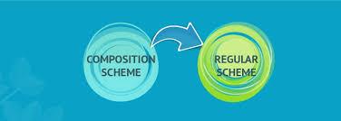 Composition and Regular scheme in GST