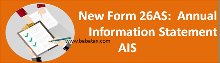 Annual Information Statement (AIS) 26AS