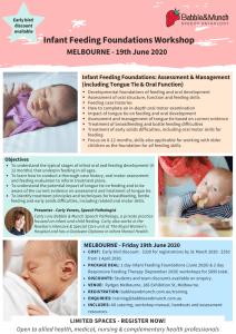 Melbourne IFFW 2020 Flyer