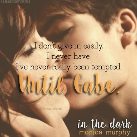 In the Dark Teaser #1 - #RentasticReads #BabblingChatterReads