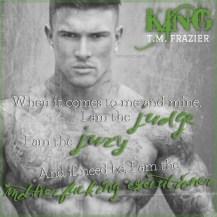 King Teaser #3 - #RentasticReads #BabblingChatterReads
