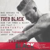 Tainted Black Teaser #1 - #RentasticReads #BabblingChatterReads