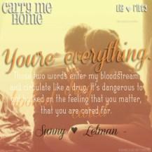 Carry Me Home Teaser #3 - #RentasticReads #BabblingChatterReads