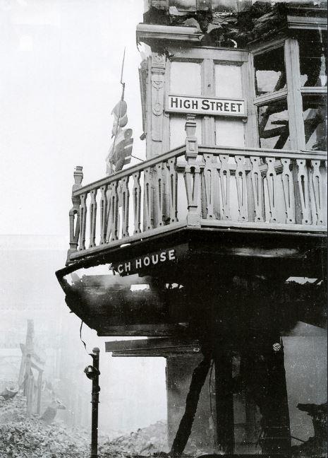 The Dutch House, Bristol, England (Dec 1940)