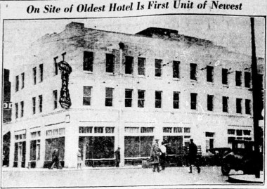 Plaza Hotel in 1931, when it opened to the public