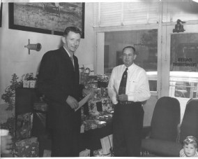 Charles Harding Babb with Lawrence (Al) Phelan
