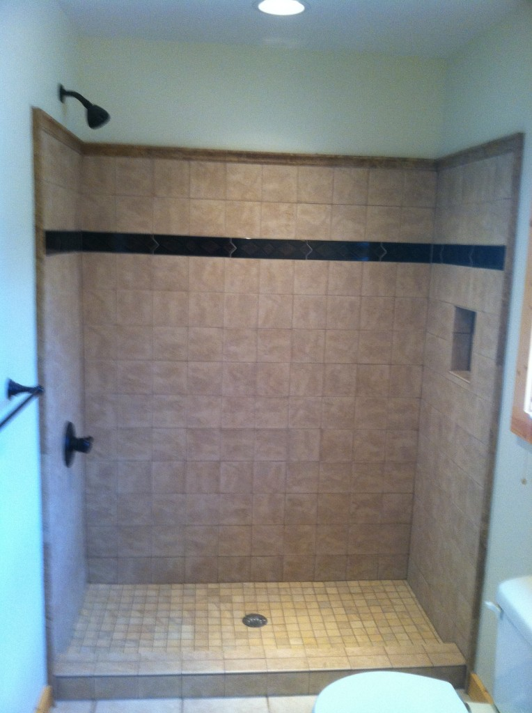 Tile Shower Installation In Ellijay Ga Blueridge Blairesville And North Ga Areas Babcock Residential Group