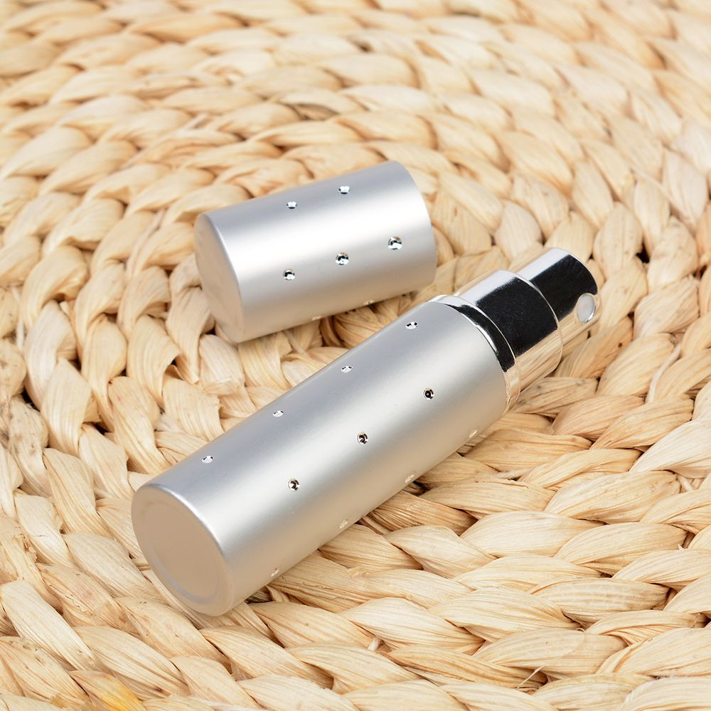 5ML Hot Sale Aluminum Refillable Perfume Bottle Mini Portable For Travel With Spray Empty Cosmetic Containers 4