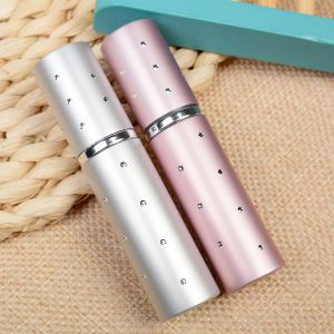 5ML Hot Sale Aluminum Refillable Perfume Bottle Mini Portable For Travel With Spray Empty Cosmetic Containers