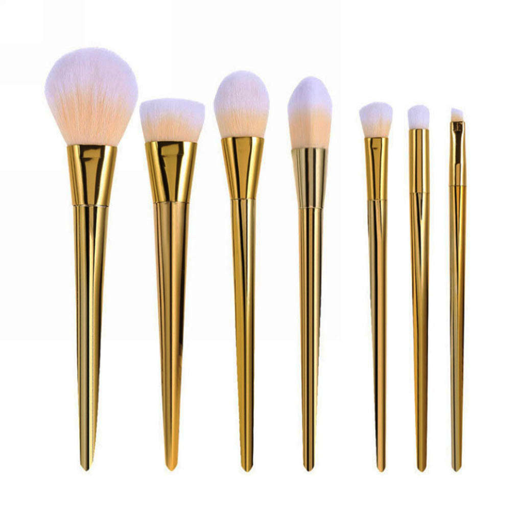 7pcs Makeup Brushes Set Powder Foundation Eyeshadow Eyeliner Lip Brush Tool 1