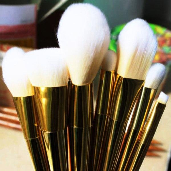 7pcs Makeup Brushes Set Powder Foundation Eyeshadow Eyeliner Lip Brush Tool 3