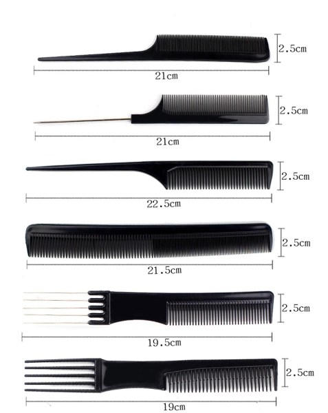 stylist anti static hairdressing combs m description 1