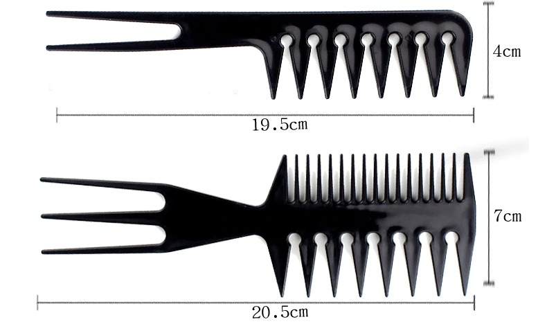 stylist anti static hairdressing combs m description 3
