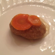 Gefilte Fish at Rosh Hashanah Dinner