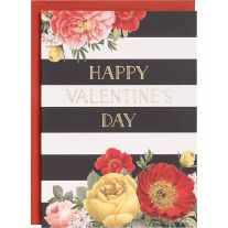 Happy Valentine's Day A6 Foil Card