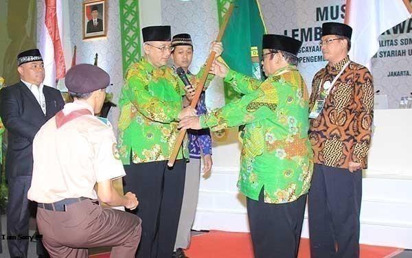 Abdullah Syam Kembali Pimpin DPP LDII