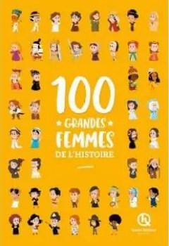 Livres Couvertures de 100 Grandes Femmes De L'Histoire