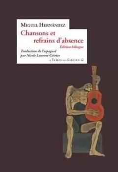 Livres Couvertures de Chansons Et Refrains D'absence