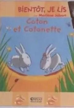 Livres Couvertures de Coton Et Cotonette