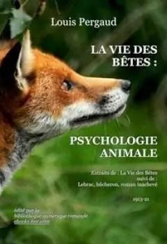 Livres Couvertures de La Vie Des Bêtes : Psychologie Animale