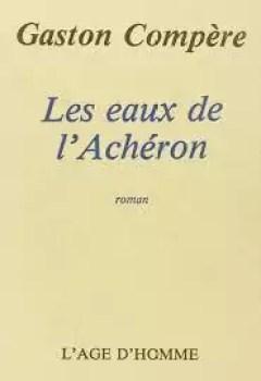 Livres Couvertures de Les Eaux De L'Achéron