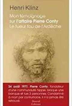 Livres Couvertures de Mon Témoignage Sur L'affaire Pierre Conty