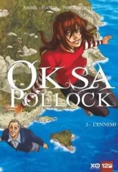 Livres Couvertures de Oksa Pollock, Tome 2 : L'ennemi
