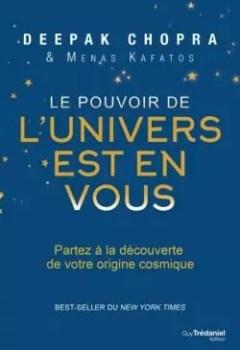 Livres Couvertures de Le Pouvoir De L'Univers Est En Vous
