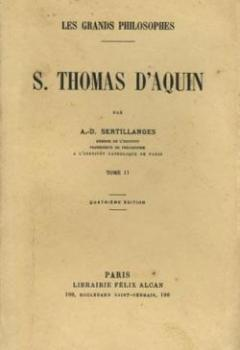 Livres Couvertures de S. Thomas D'Aquin Tome 2