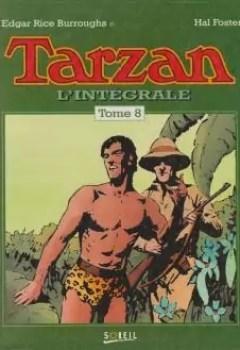 Livres Couvertures de Tarzan   Intégrale, Tome 8