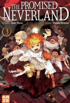 Livres Couvertures de The Promised Neverland, Tome 3