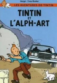 Livres Couvertures de Tintin Et L'Alph Art (Yves Rodier)