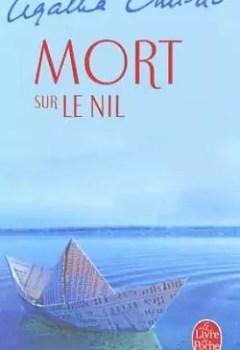 Livres Couvertures de Mort Sur Le Nil
