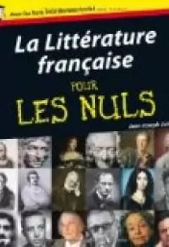 Livres Couvertures de La Littérature Française Pour Les Nuls