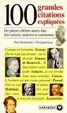 100 grandes citations expliquées