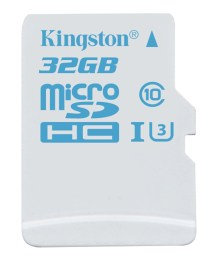 Kingston Digital Releases New microSD for Action Cameras