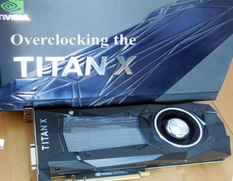 Overclocking the TITAN X